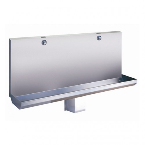 SLPN 03E - Stainless Steel Automatic Urinal Manger, Length 1200 mm