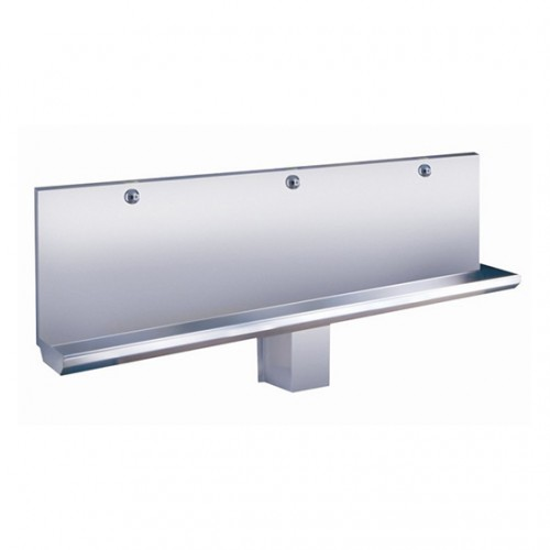SLPN 04E - Stainless Steel Automatic Urinal Manger, Length 1800 mm