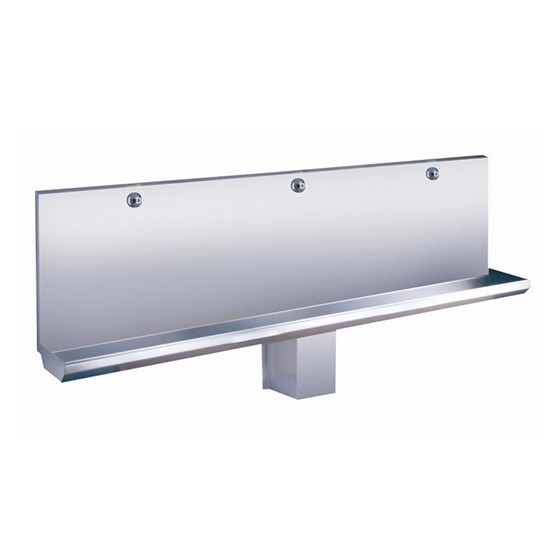 SLPN 04E – Stainless Steel Automatic Urinal Manger, Length 1800 mm