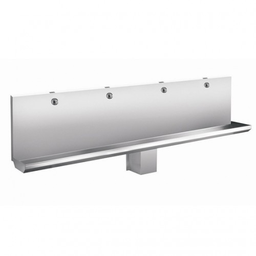 SLPN 05E - Stainless Steel Automatic Urinal Manger, Length 2400 mm