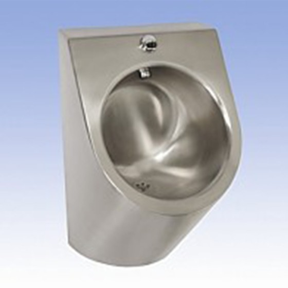 SLPN 07E – Stainless Steel Urinal with a Built-in Automatic Flushing Unit