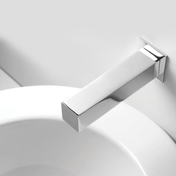 Quadrat with round sink