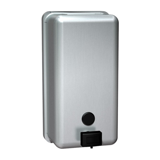 VERTICAL SOAP DISPENSER