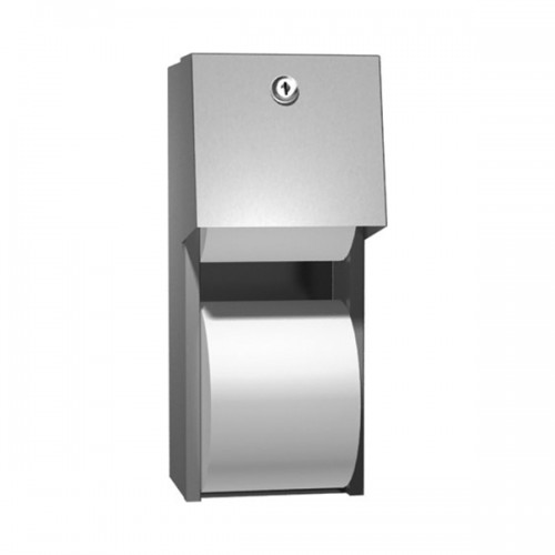 SURFACE MOUNTED DUAL ROLL TOILET TISSUE DISPENSER 0030